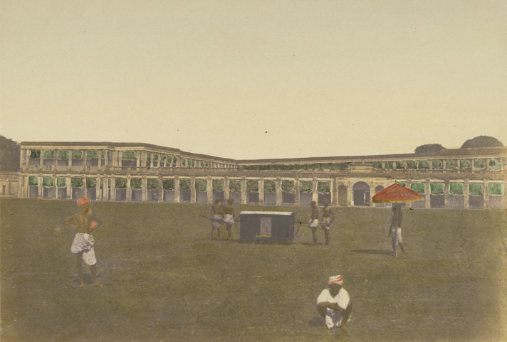 Enterior [sic] of Fort William (barracks), Calcutta